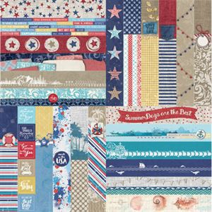 Picture of Summer Fun by Katie Pertiet  Border Strips - Set 12